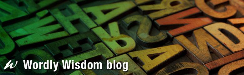 Wordly Wisdom blog header